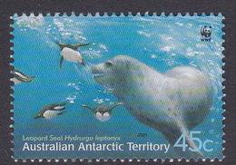 Australian Antarctic Territory  S 148  2001 Leopard Seals 45c Adult Underwater Used - Territoire Antarctique Australien (AAT)