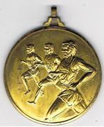 Médaille  Course à Pied  Marquée  AM  50 Mm - Athletics