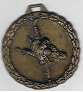 Médaille Sport De Combat  50 Mm - Sports De Combat