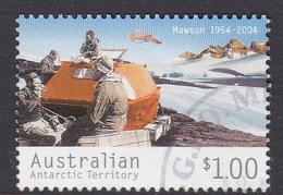 Australian Antarctic Territory  S 159 2004 50th Anniversary Mawson Station $ 1.00 Floating Caravan Used - Used Stamps