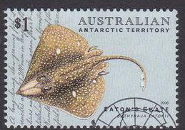 Australian Antarctic Territory  S 167 2006 Fishes $ 1.00 Eaton's Skate Used - Gebraucht