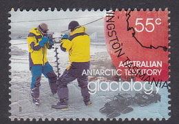 Australian Antarctic Territory  S 174 2008 International Polar Year 55c Glaciology Used - Gebraucht