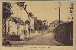 JUILLAC (19) - La Rue Du Canal - Ed. Guionie Et Fils, Brive - Juillac