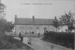 Saligny Le Vif : école De Filles - Frankreich
