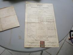 Zeugnis  Privat Handelsschule N. Kapamadzija Wien 1906 - Austria