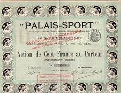 VP9737 - PARIS 1895 - Action - ¨ PALAIS - SPORT ¨ - Sports