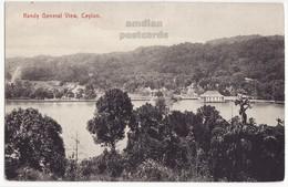 CEYLON - KANDY GENERAL VIEW C1910s-20s Vintage Postcard SRI LANKA - CEYLAN - Sri Lanka (Ceylon)