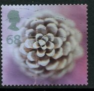 Great Britain 2002 68p Pine Cone Issue #2085 - 1952-.... (Elizabeth II)
