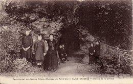 - SUCY EN BRIE -1931- Pensionat De Jeune Fille.Château Du Petit-Val..Entrée De La Grotte (tbe) - Sucy En Brie