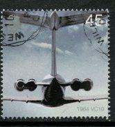 Great Britain 2002 45p VC10 Jet Issue #2051 - 1952-.... (Elizabeth II)
