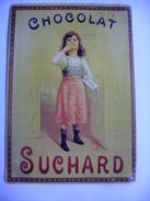 Plaque  En Tole  Publicite  Chocolat Suchard - Plaques Publicitaires