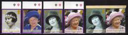 British Virgin Islands 2002 Queen Elizabeth The Queen Mother Commemoration.stamps And Bl.stamps.MNH - Britse Maagdeneilanden