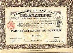 Compagnie De Navigation SUD ATLANTIQUE  (Imprimerie Richard) - Navigation