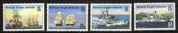 British Virgin Islands 2002 Ships Of The Royal Navy.MNH - Britse Maagdeneilanden