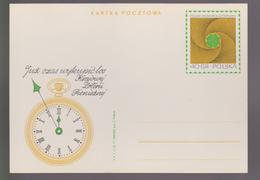 M 750) Polen 1971 GS Karte *: Kaufen Sie Bald Ein Los Der Geld-Lotterie, Uhr - Giochi