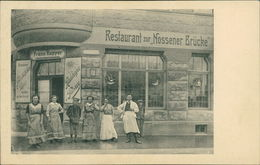 AK Dresden, Restaurant Zur Nossener Brücke, Um 1910 (3404) - Dresden