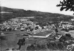 CPSM - GRANGES-sur-VOLOGNE (88) - Vue Aérienne Du Bourg Et De L'Usine En 1960 - Granges Sur Vologne