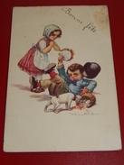 """FANTAISIES - HUMOUR -  """" Bonne Fête  """"  -  Castelli  Illustrateur  -  1922 - Castelli"""