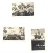 VERVIERS - Lot De 3 Photos ( +/- 6 X 9 Cm) D'un Groupe De Trieuses De Laines - Filature - Métier  (b202) - Beroepen