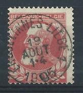 N°74, 10c Rge Ambulant ERQUELINNES-LIEGE 1 /1905 - 1905 Grosse Barbe