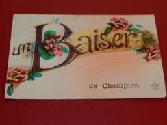 CHAMPION  -  Un Baiser De Champion -   1925 - Namen
