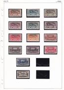 A.E.F - Collection Vendue Page Par Page - Timbres Neufs */** / Oblitérés - B/TB - A.E.F. (1936-1958)