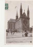 REIMS - L'EGLISE  SAINT THOMES - TRES BELLE CARTE - PHOTO - ANIMEE -  TOP !!! - Reims