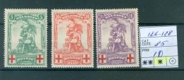 126-128   X - 1918 Croix-Rouge