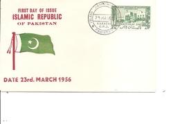 Pakistan ( FDC De 1956 à Voir) - Pakistan
