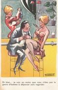 CARTE HUMORISTIQUE  PIN-UP MARQUO CABARET - Other Illustrators