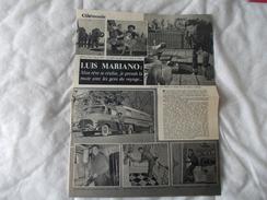 Cinemonde Article Avec Luis Mariano - Livres, BD, Revues