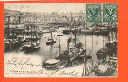Italie Napoli (pli à Gauche) - Bateaux - Napoli (Naples)