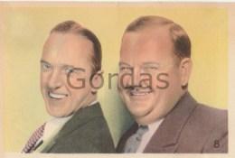 Laurel And Hardy - Stjarnparaden Serien - 90x130mm - Acteurs