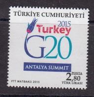 TURKEY 2015 G20 SUMMIT - 1921-... República