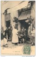 E7 ALGERIE Souk Arhas épicier Arabe 1907 - Professions
