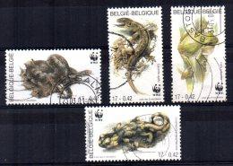 Belgium - 2000 - Amphibians & Reptiles - Used - Oblitérés