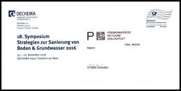 Bund / Germany: 'Premiumadress - Retoure - Dialogpost [Infopost], 2016' - Umweltschutz Und Klima
