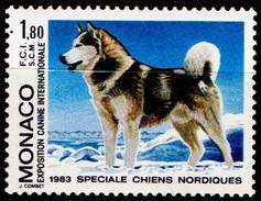 1367  1983  MONACO  EXPOSITION CANINE INTERNATIONALE DE MONTE-CARLO - Cani