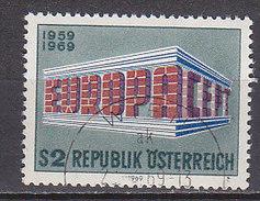 PGL BZ927 - AUTRICHE AUSTRIA Yv N°1121 EUROPA CEPT - 1969