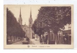 L 9200 DIEKIRCH, Blick Auf Die Kirche, Belebte Szene - Diekirch