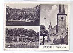 L 9200 DIEKIRCH, Strandbad, Kirche, Panorama, 1964 - Diekirch
