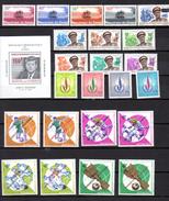 1966-69        R.D.C 1966-69, Lot De Séries Complètes Neuves, Entre 625 Et 707**, Cote 93,95 € - República Democrática Del Congo (1964-71)