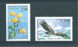 Andorre Timbres De 1992 N°420/21  Neuf ** - Neufs