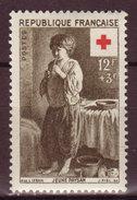 FRANCE - 1956 -YT N° 1089 - ** - Croix Rouge - France