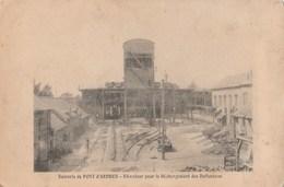 CPA 62  PONT D'ARDRES SUCRERIE ELEVATEUR POUR DECHARGEMENT DES BETTERAVES  VOIR ETAT - France
