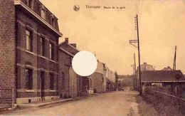 THIMISTER  Route De La Gare Vers 1920 - Thimister-Clermont