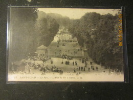Cpa SAINT CLOUD (92) Le Parc- L'Allée Du Fer à Cheval - Saint Cloud