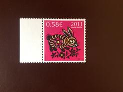 Estonia 2011 Year Of The Rabbit MNH - Estonia