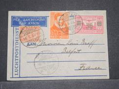 INDES NÉERLANDAISES - Enveloppe De Klaten Pour La France En 1933 Par Avion , Affranchissement Plaisant - L 6731 - Indes Néerlandaises