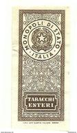 1965 - Italia - Marche Per Tabacchi Esteri N. 8 - Italien